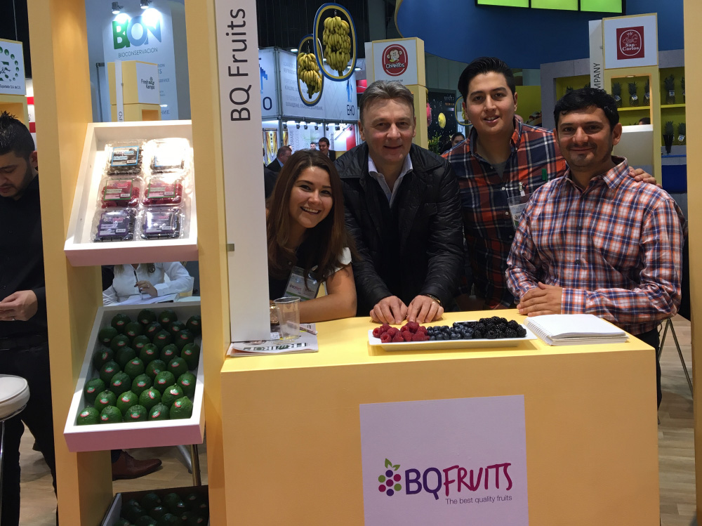 BQ Fruits en Fruit Logistica 2016