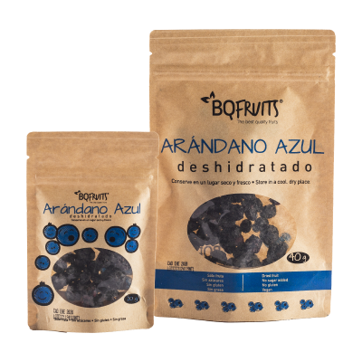 Arándano Azul deshidratado BQ Fruits