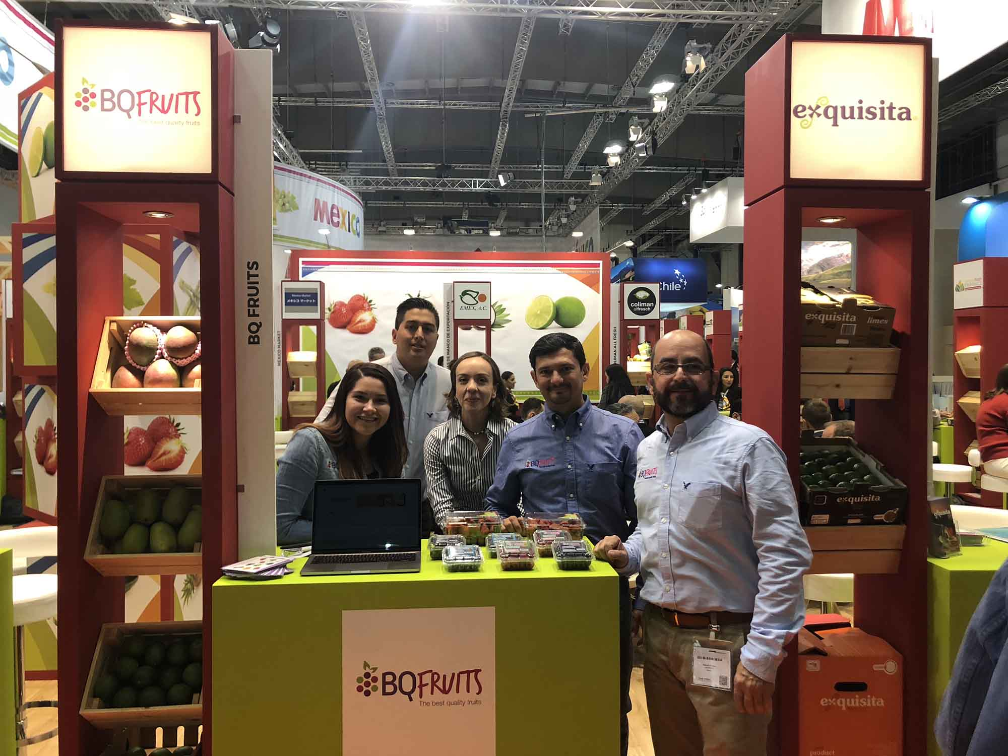 BQ Fruits Fruit Logistica 2018