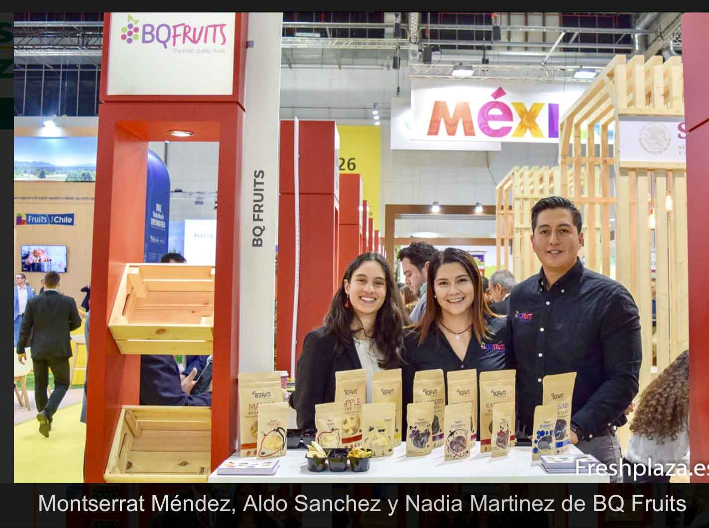 BQ Fruits Fruit Logistica 2019